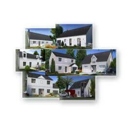 Une gamme de plans de maisons