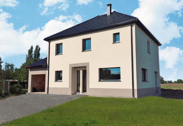 La construction de votre maison terminée